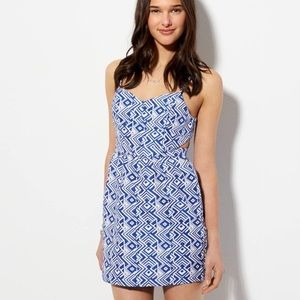 NWOT AE American Eagle Side Cut Out Dress